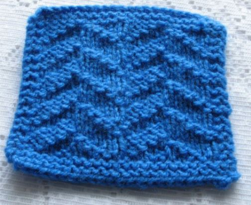 Textured Coaster and Place Mat Knitting Patterns